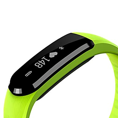 TechComm YX101 Water-Resistant Fitness Tracker with Heart Rate Monitor