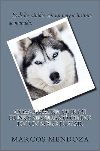 Como Hacer que Mi Husky Siberiano Orine en un Solo Lugar (Spanish Edition): Marcos Mendoza: 9781987551815: Amazon.com: Books