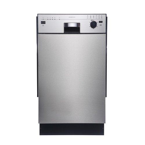 """EdgeStar 18"""" Built-In Dishwasher - Stainless Steel"""
