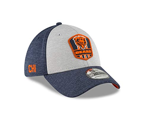 New Era Chicago Bears Official Sideline Away 39THIRTY Stretch Fit Cap, M/L (Stretch Era New)