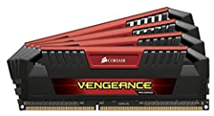 Corsair Vengeance Pro Series memory modules are designed for overclocking on the latest 3rd and 4th generation Intel® Core™ platforms, with eight-layer PCBs and ICs specially selected for performance potential. The aluminum heat spreaders pro...