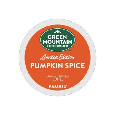 Green Mountain Coffee Pumpkin Spice, Keurig K-Cups, 72 Count by Green Mountain Coffee