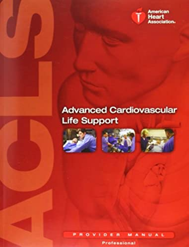 advanced cardiovascular life support provider manual elizabeth rh amazon com ACLS Provider Algorithms acls 2015 provider manual code