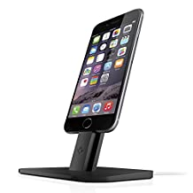 Twelve South HiRise for iPhone/iPad, black | Adjustable Charging Stand - Lightning cables not included