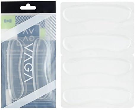Höchste Qualität Paar Silikon Einlagen / Stützeinlagen / Einlegesohlen Für Schuhe Selbst Klebend Bequem In Farbe Transparent Von VAGA®