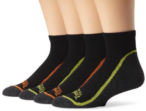 Timberland Mens Assorted Quarter Socks