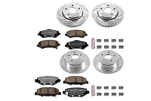 - Power Stop K2798-36 Front & Rear Z36 Truck and Tow Brake Kit