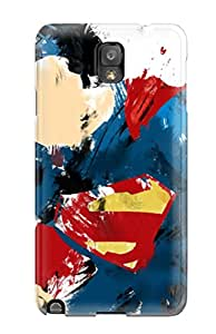 Flexible Tpu Back Case Cover For Galaxy Note 3 - Superman Art