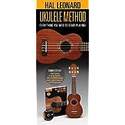 [Amazon Canada]Hal Leonard Ukulele Starter Pack: Includes a Ukulele, Method Book/CD, and DVD $32.99