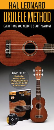 [Amazon Canada]Hal Leonard Ukulele Starter Pack: Includes a Ukulele, Method Book/CD, and DVD $32.99