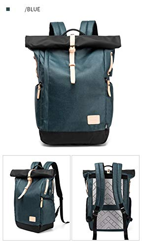 Travel Cloth Laptop Large 15 Gray inch Backpack 6 Multi Function Oxford WZ1OCq1y