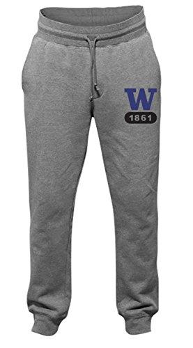 ington Huskies Men's Jogger Cuffed Pants, XX-Large, Dark Oxford ()
