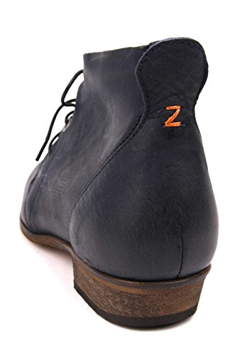 HUB CHUCKIE - Ankle Boot - Dark Navy / Natural