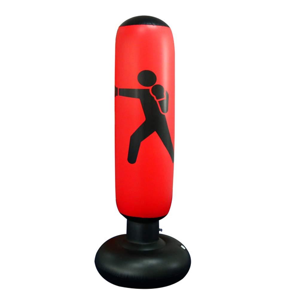 MYYAGEW 自立式水ベースポンプ 膨らませるパンチバッグ 自立式ボクシングおもちゃ 子供用 パンチバッグ 子供用 ユースボクシングバッグ 大人用