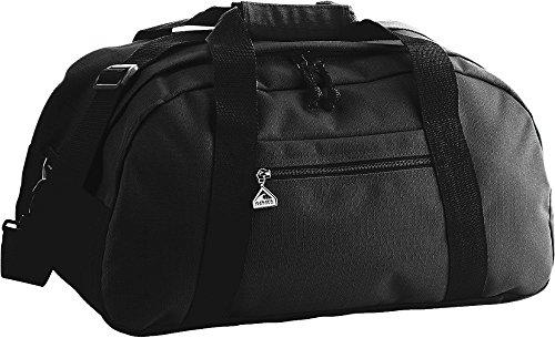 Augusta Sportswear LARGE RIPSTOP DUFFEL BAG OS Black/Black