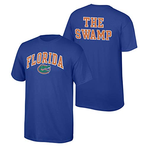 Elite Fan Shop NCAA Men's Florida Gators T Shirt Team Color Back Florida Gators Royal X -