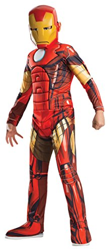 Muscle Girl Costume (Rubies Marvel Universe Classic Collection Avengers Assemble Deluxe Muscle-Chest Iron Man Costume, 50-54