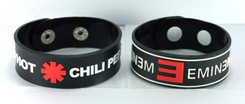 red hot chili peppers bracelet - 3