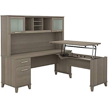 Amazon Com Bush Furniture Somerset 72w 3 Position Sit To
