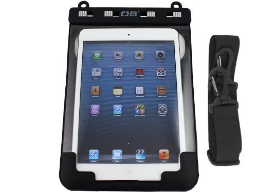 OverBoard Ipad Mini Waterproof Case, Black