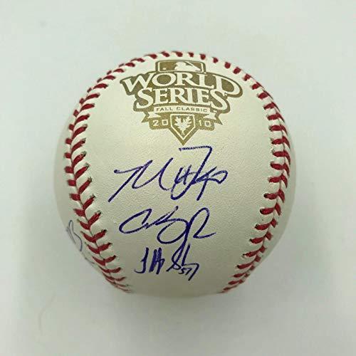 (2010 San Francisco Giants World Series Champs Team Signed W.S. Baseball TRISTAR)