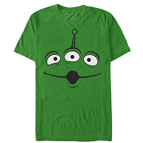 Toy Story Men's Squeeze Alien Costume Tee Kelly Green T-Shirt