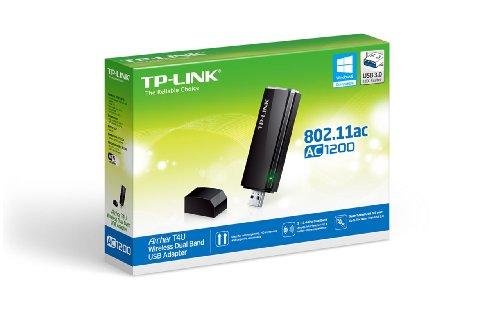 TP-Link Archer T4U USB 3.0 802.11a/b/g/n/ac Wi-Fi Adapter
