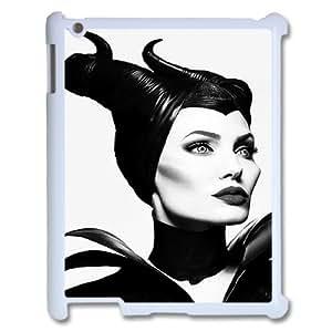 DIY iPad2,3,4 Case, Zyoux Custom New Design iPad2,3,4 Plastic Case - Maleficent
