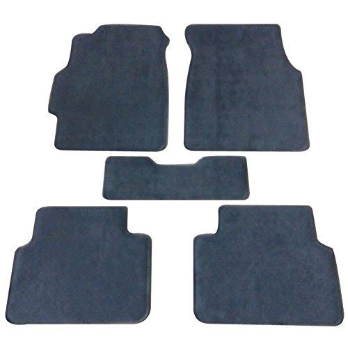 Floor Mat Fits 1994-2001 Acura Integra   Front & Rear Gray 5PC Nylon Car Floor Carpets Carpet liner by IKON MOTORSPORTS   1995 1996 1997 1998 1999 2000