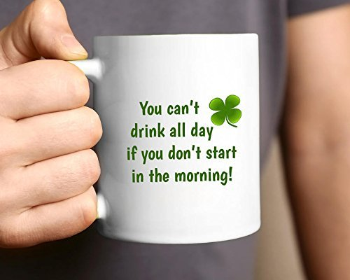Irish Coffee Mug, Funny Irish Mug, Mug Quotes, Shamrock Mug, Irish Gift, St Patricks Day Mug, St Patrick's Day Gift, Lucky Irish, 11oz 15oz