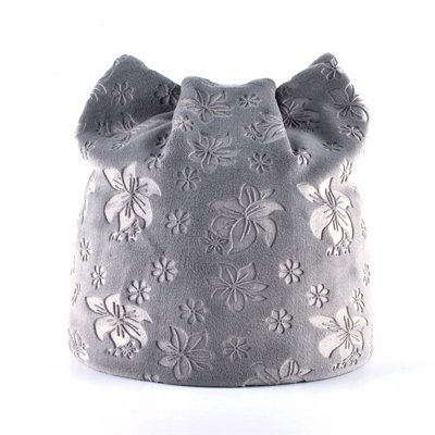 Gold Happy Autumn Warm Winter Hat For Women Cat Ears Skullie