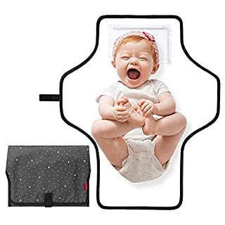 Changing Pad for Moms and Dads Travel, Portable Changing Pad,Diaper Changing Pad for Baby Waterproof and Lightweight/Gifts