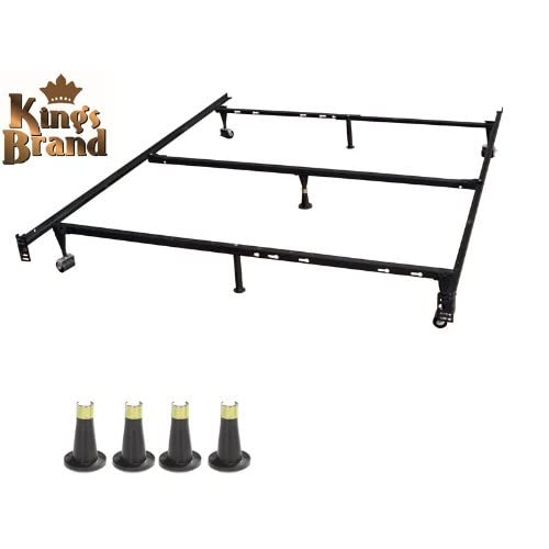 Bed Frame With Locking Wheels Amazon Com