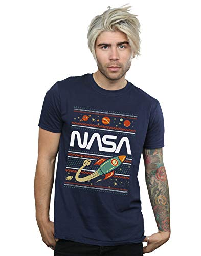 Fair Bleu T Isle Nasa Marin Cult shirt Homme Absolute qwPtnS