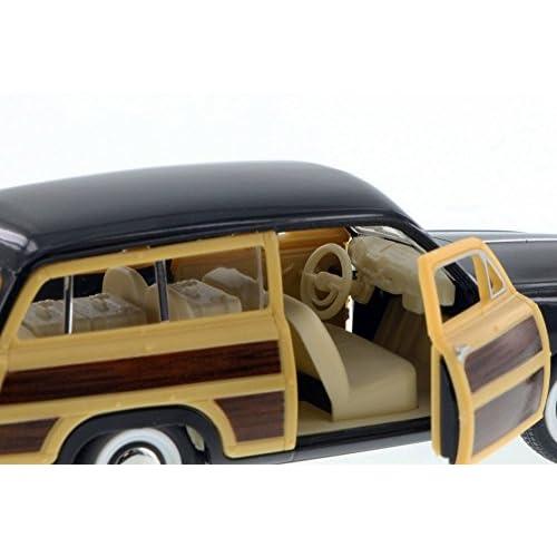 high-quality 1949 Ford Woody Wagon, Black - Kinsmart 5402D