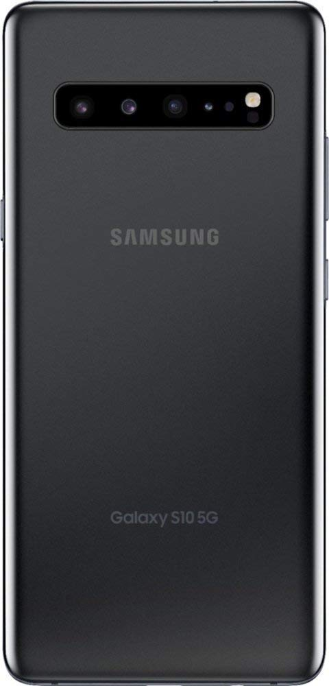 Samsung Galaxy S10 5G Enabled 6.7in SM-G977UZAVZW 8GB+256GB Majestic Black (VZW Unlocked) - US Warranty (Renewed)