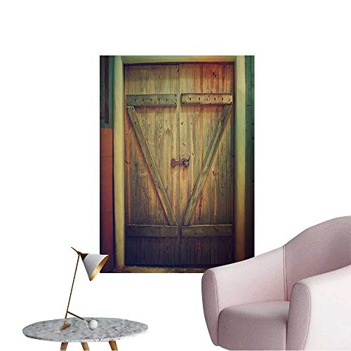 Wall Stickers for Living Room Wooden Farm gate. Vinyl for sale  Delivered anywhere in USA