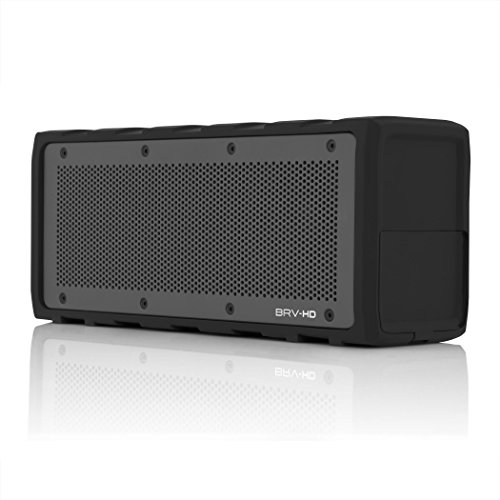 BRAVEN BRV-HD Wireless Bluetooth Speaker [28 Hour Playtime][Water Resistant] Built-In 8800 mAh Power Bank Charger - Black by Braven