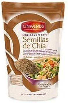 Semillas De Chia Molidas Bio 200 Gr de Linwoods: Amazon.es: Salud ...