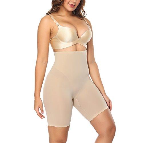 FeelinGirl Shapewear Women's Seamless High-Waisted Slimming Short S - High Waisted Shaper