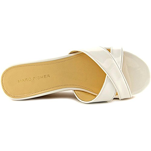 Marc Fisher Cilla 2 Women Us 8.5 White Wedge Sandal