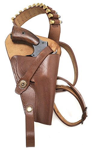 M3 Victory Revolver Premium Brown Drum Dyed Leather