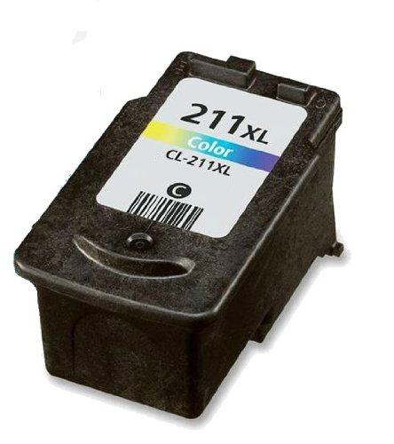 HouseOfToners CL211X CL-211XL CL 211 XL Canon Ink Cartridges Remanufactured In USA for Pixma MP270 MX330 iP2702 (Alternative Replacement)