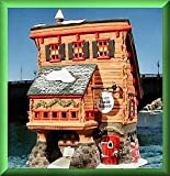 Dept 56 Holiday Buildings: North Pole Series ~ Elves Trade School ~ Heritage Village Collection #56387 by Department 56