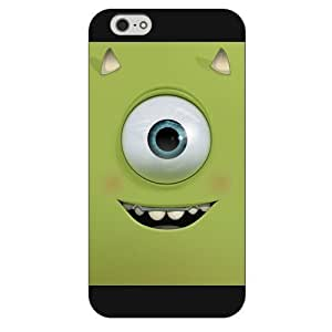 Customized Black Frosted Disney Cartoon Monsters University iPhone 6 4.7 Case, Only fit iPhone 6 4.7""