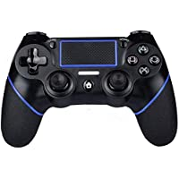 PS4 Controller Wireless Gamepad for PS4/PS4 Slim/PS4 pro/PC with USB Charge Cable with Dual Vibration, Clickable…