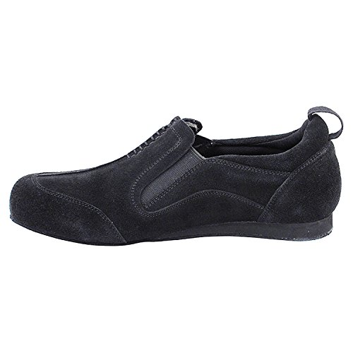 Flat Party Practice Teaching by Comfort Party amp; Salsa Swing Dance Low Ballroom Shoes For 1 5 Art Latin Black Heel Thick Of Collection Theather 701bbx Practice Shades Heel Women Suede Tango 50 zfqUw