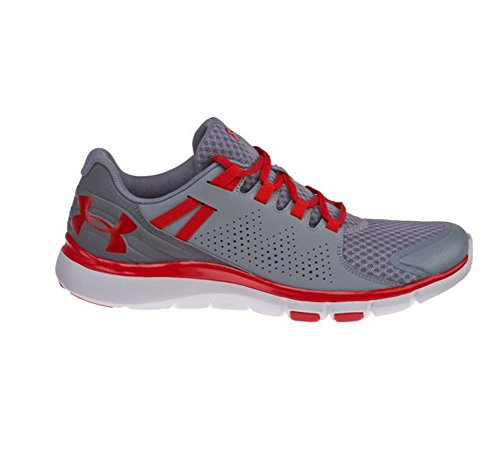 Under Armour Mens Micro G Limitless TR Cross Trainer Steel graphite red tzXJc