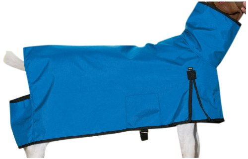 Weaver Leather Cordura Goat Blanket, Blue, Medium