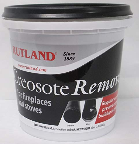 Cleaner Fireplace (Rutland Products 2 lb Creosote Remover)